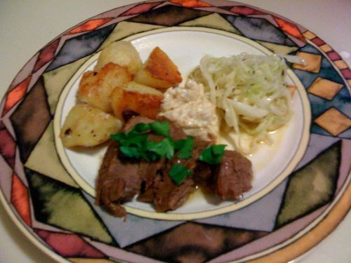 Our Austrian Feast: Tafelspitz, Cabbage Salad, and Fried Potatoes