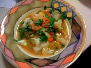 Maltese widows soup